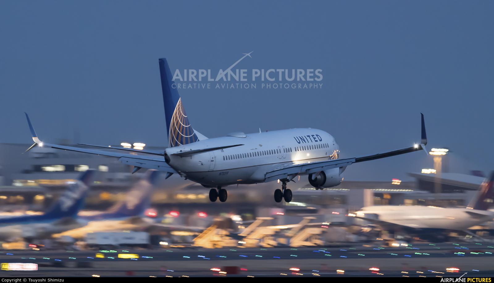 United Airlines N73299 aircraft at Tokyo - Narita Intl