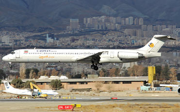 EP-CPD - Caspian Airlines McDonnell Douglas MD-83