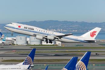 B-2486 - Air China Boeing 747-8