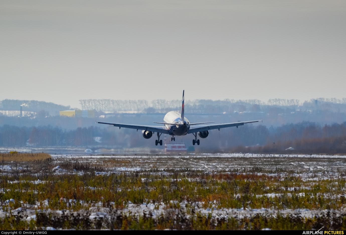 Aeroflot VQ-BCP aircraft at Nizhniy Novgorod