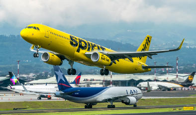 N664NK - Spirit Airlines Airbus A321