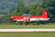 A-924 - Switzerland - Air Force: PC-7 Team Pilatus PC-7 I & II aircraft