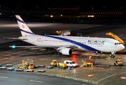 Rare visit of an El AL Boeing 767 to Vienna title=