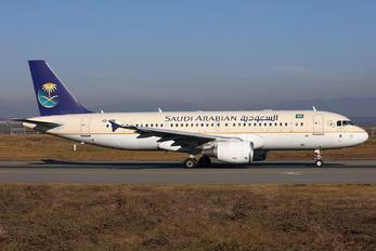 HZ-ASB - Saudi Arabian Airlines Airbus A320