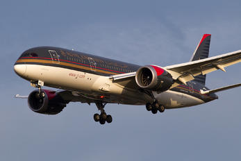 JY-BAG - Royal Jordanian Boeing 787-8 Dreamliner