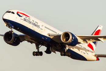 G-ZBKI - British Airways Boeing 787-9 Dreamliner