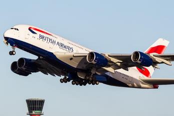 G-XLEL - British Airways Airbus A380