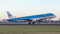 PH-EZT - KLM Cityhopper Embraer ERJ-190 (190-100) aircraft