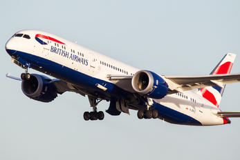 G-ZBKC - British Airways Boeing 787-9 Dreamliner