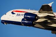 G-XLEL - British Airways Airbus A380 aircraft