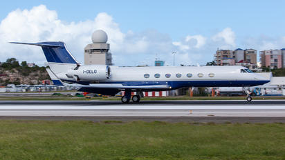 I-DELO - Private Gulfstream Aerospace G-V, G-V-SP, G500, G550