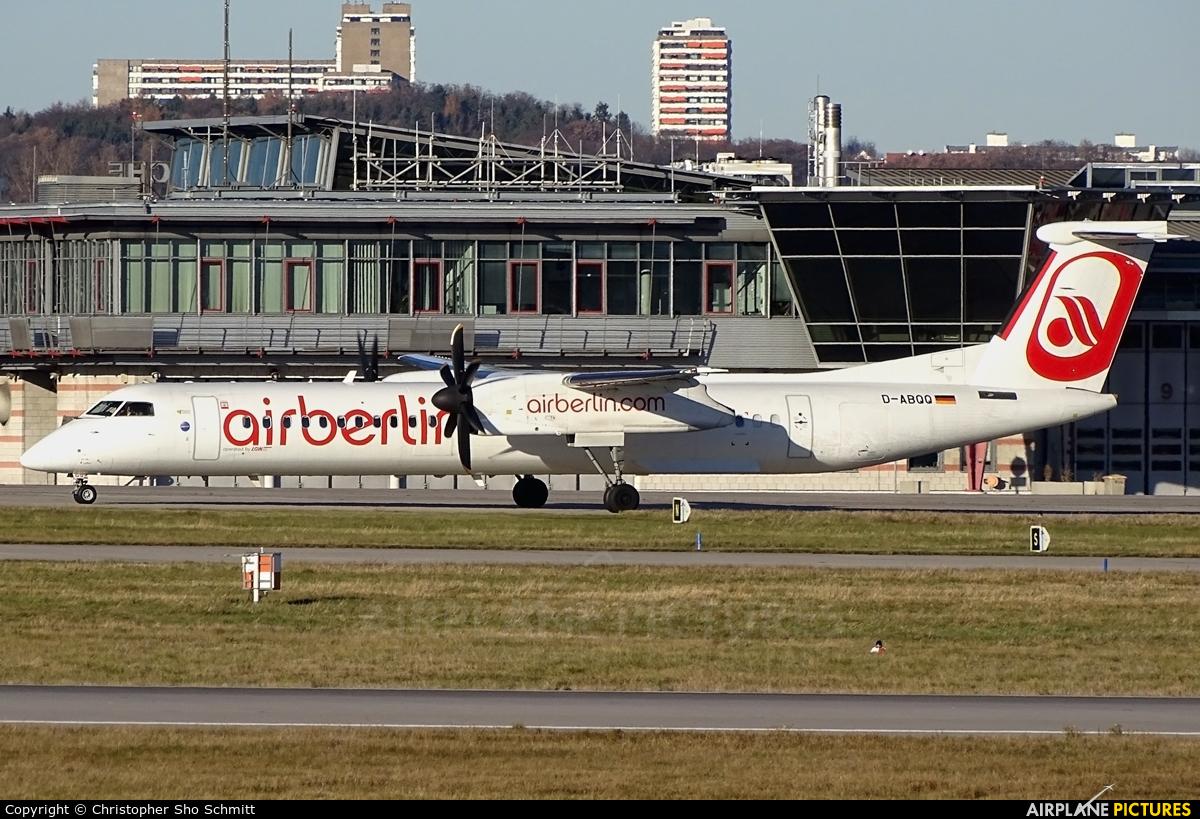 Air Berlin D-ABQQ aircraft at Stuttgart