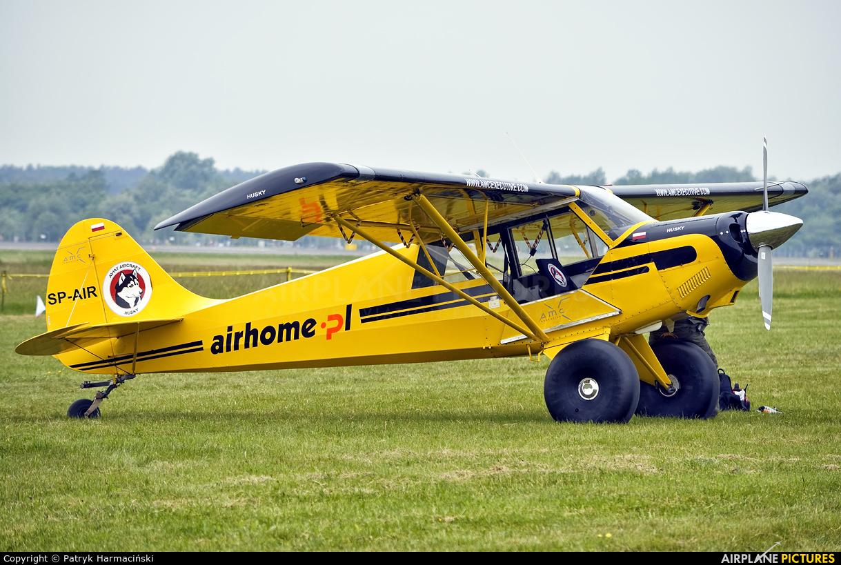Private SP-AIR aircraft at Poznań - Ławica