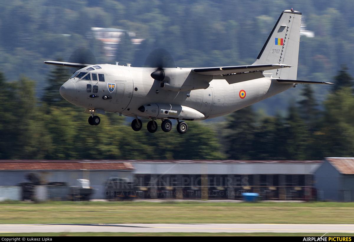 Romania - Air Force 2707 aircraft at Sliač