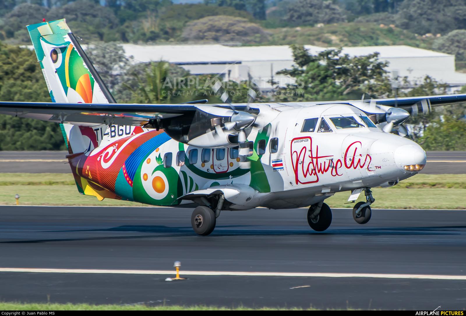 Nature Air TI-BGO aircraft at San Jose - Juan Santamaría Intl