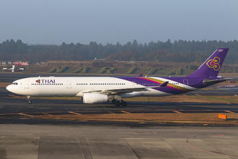 HS-TEU - Thai Airways Airbus A330-300