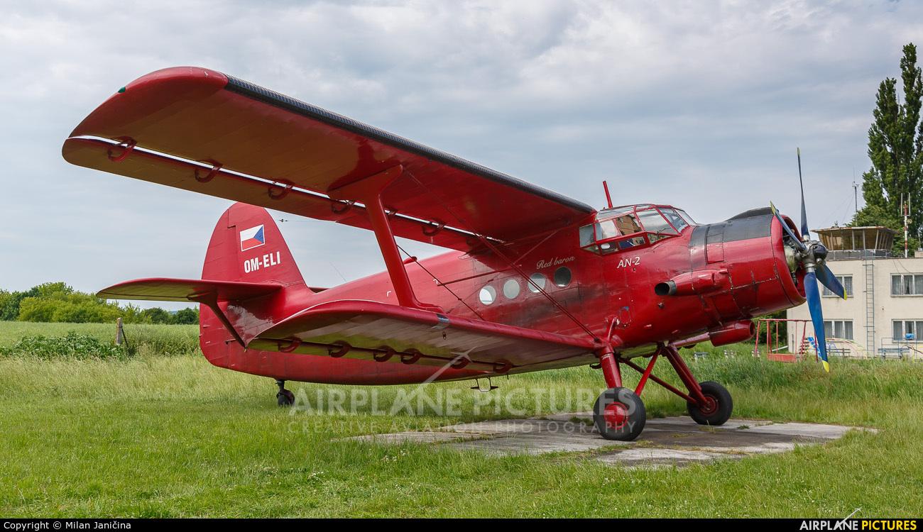 Private OM-ELI aircraft at Senica