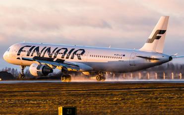 OH-LZC - Finnair Airbus A321