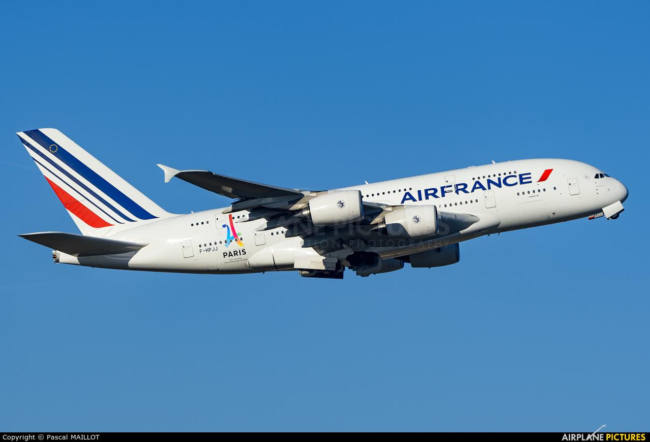 Air France F-HPJJ aircraft at Paris - Charles de Gaulle