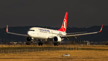 TC-JGK - Turkish Airlines Boeing 737-800 aircraft