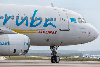 P4-AAC - Aruba Airlines Airbus A320