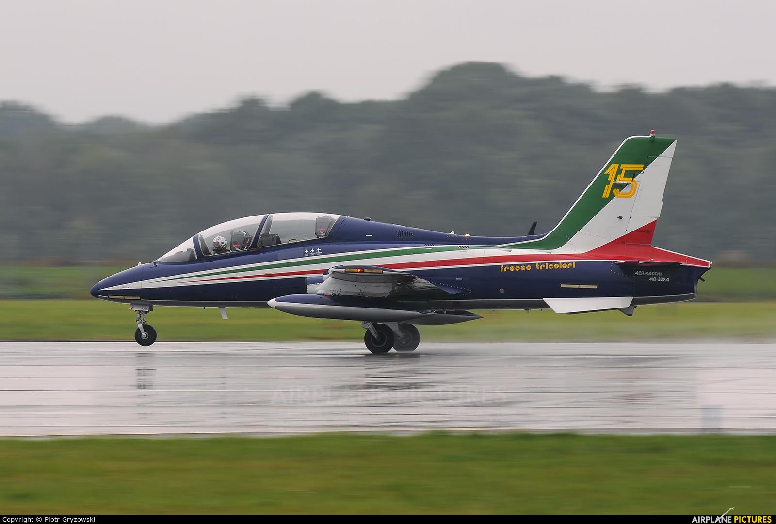 "Italy - Air Force ""Frecce Tricolori"" MM54539 aircraft at Ostrava Mošnov"