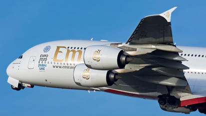 A6-EDV - Emirates Airlines Airbus A380