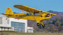HB-OKN - Groupement de Vol à Moteur - Lausanne Piper L-4 Cub aircraft