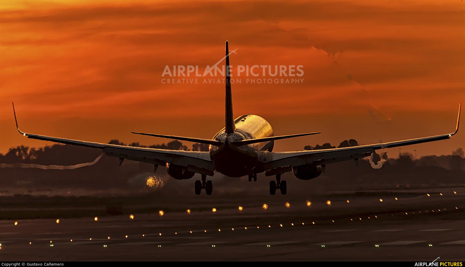 Ryanair EI-DPB aircraft at Barcelona - El Prat