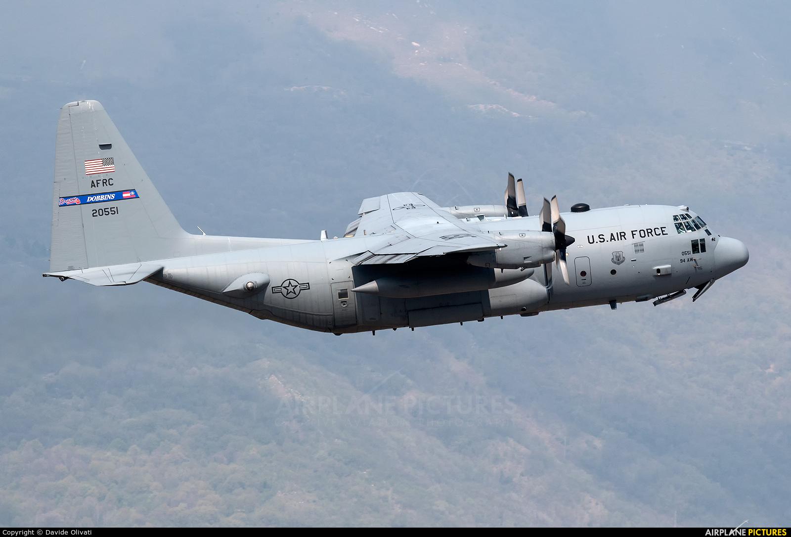 USA - Air Force 92-0551 aircraft at Aviano