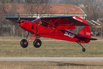 ZK-EUP - Private Zlin Aviation Shock Cub