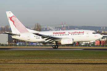 TS-IOK - Tunisair Boeing 737-600