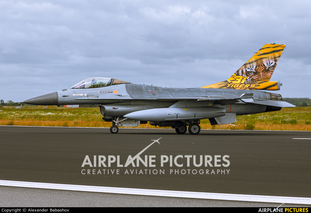 Belgium - Air Force FA-106 aircraft at Schleswig-Jagel