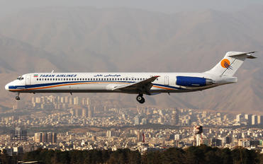 EP-TBB - Taban Airlines McDonnell Douglas MD-88