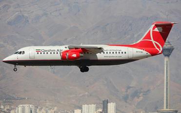 EP-FQU - Qeshm Airlines British Aerospace BAe 146-300/Avro RJ100