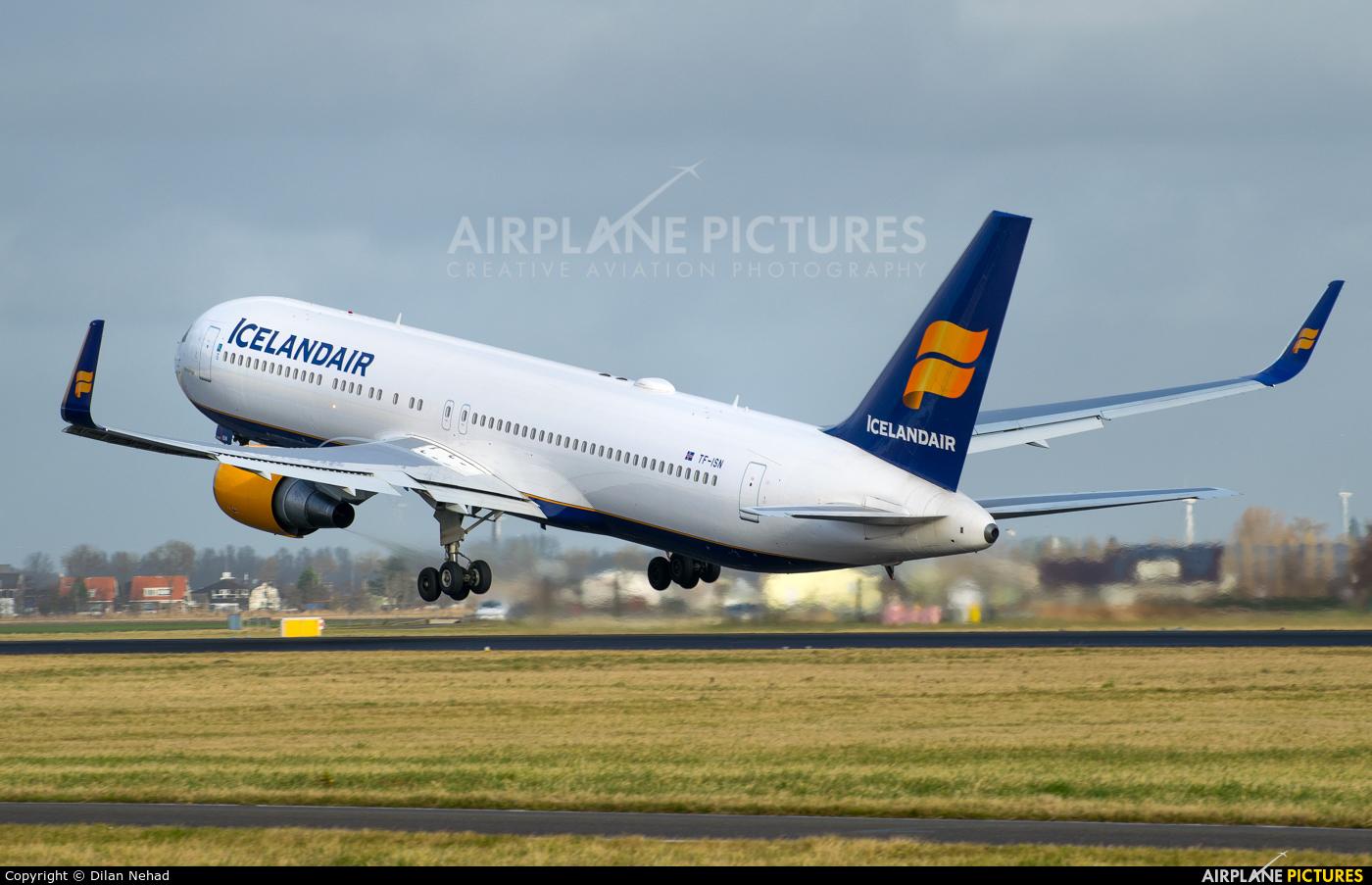 Icelandair TF-ISN aircraft at Amsterdam - Schiphol
