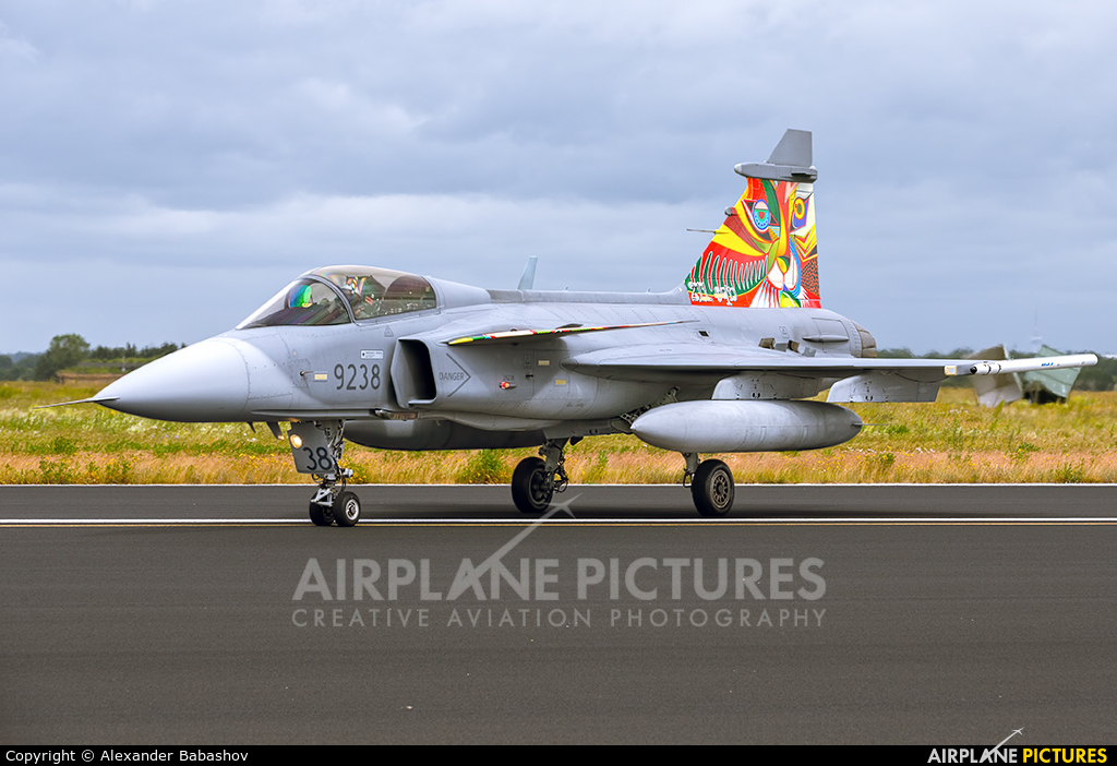 Czech - Air Force SAAB JAS 39C Gripen 9238