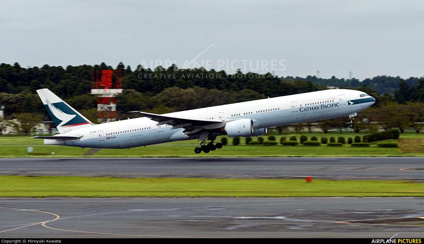 Cathay Pacific B-HNK aircraft at Tokyo - Narita Intl
