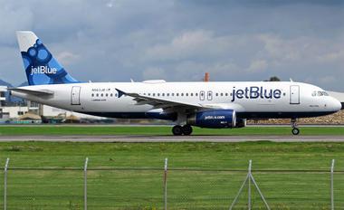 N563JB - JetBlue Airways Airbus A320