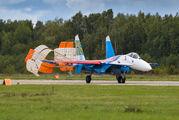 """05 - Russia - Air Force """"Russian Knights"""" Sukhoi Su-27P aircraft"""