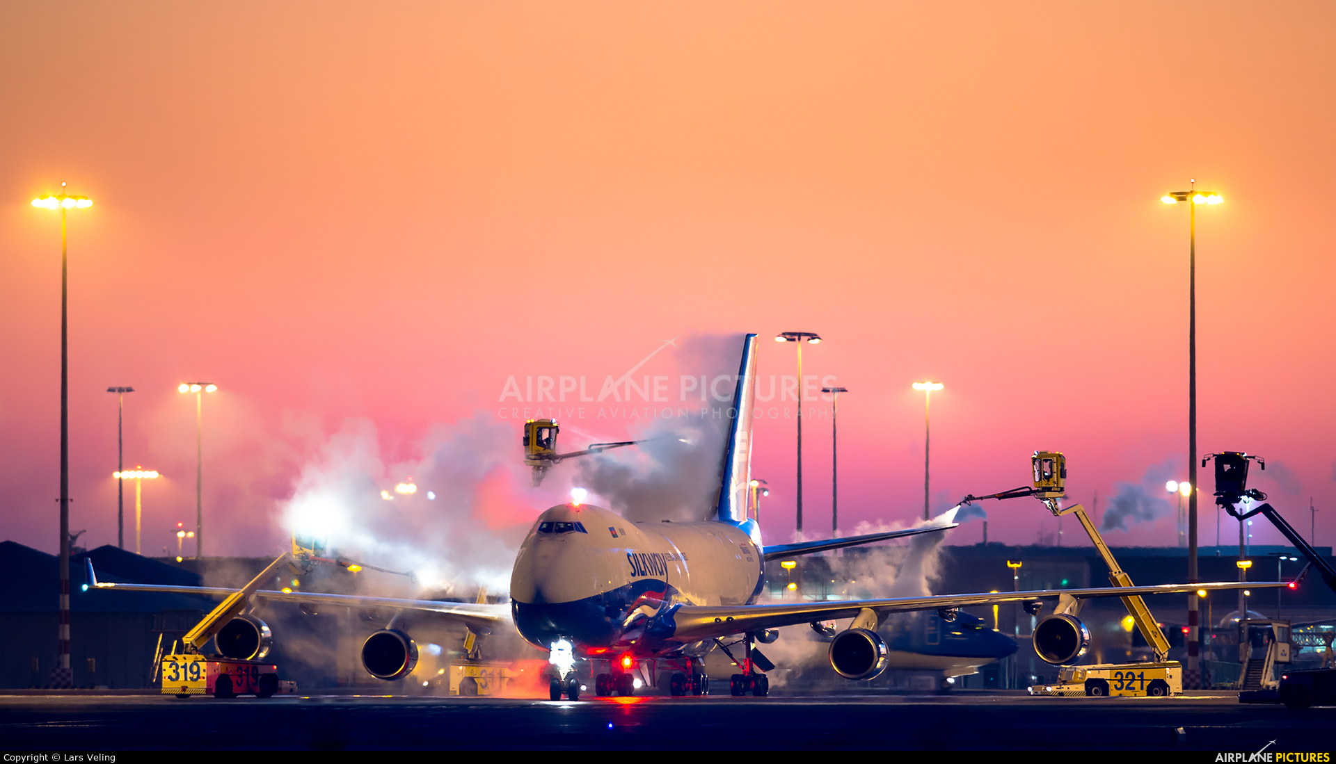 Silk Way Airlines - aircraft at Amsterdam - Schiphol