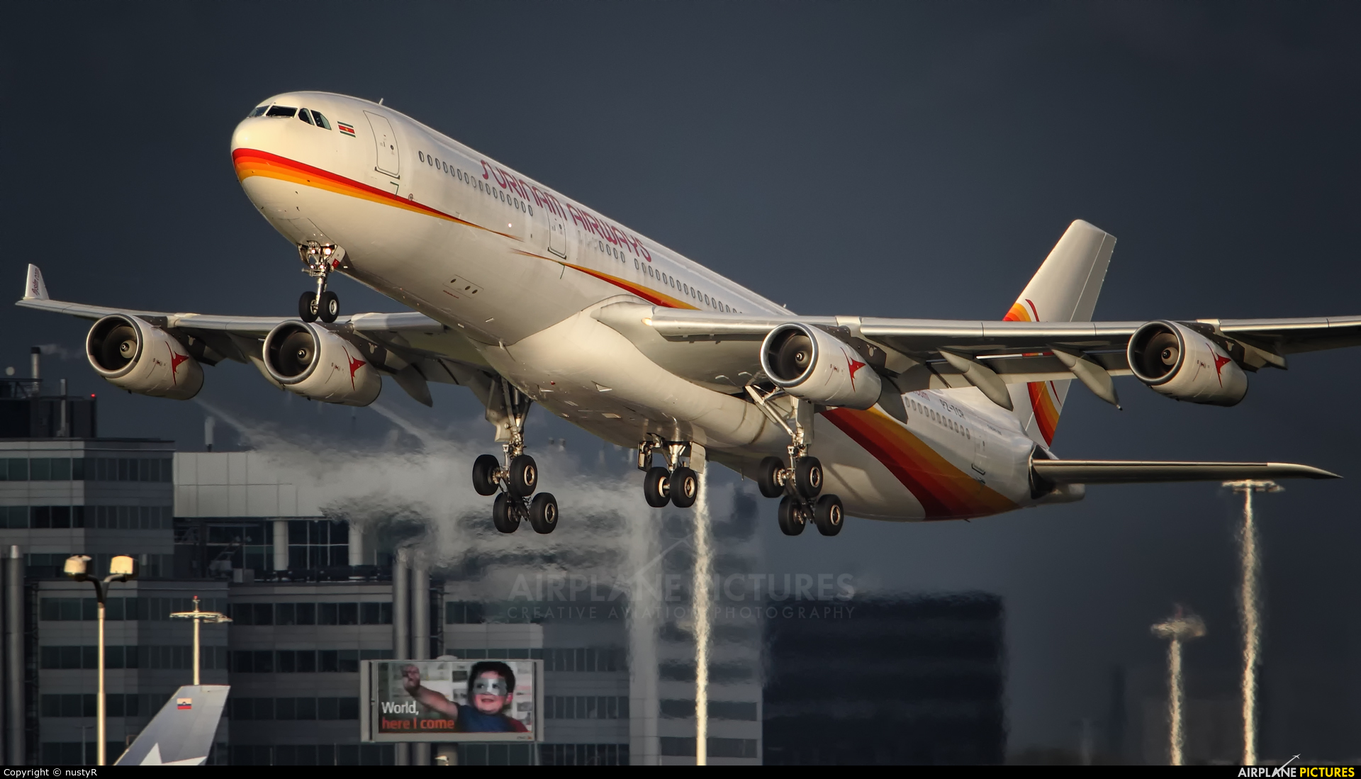 Surinam Airways PZ-TCR aircraft at Amsterdam - Schiphol