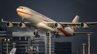 #2 Surinam Airways Airbus A340-300 PZ-TCR taken by nustyR
