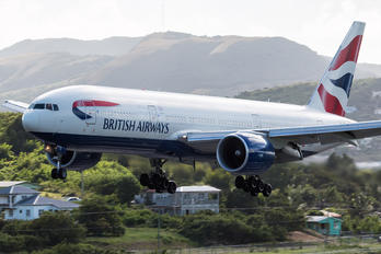 G-VIIT - British Airways Boeing 777-200ER