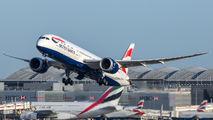 G-ZBKA - British Airways Boeing 787-9 Dreamliner aircraft