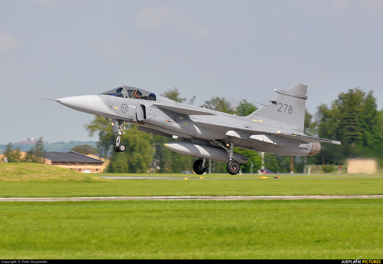 Sweden - Air Force 39278 aircraft at Čáslav
