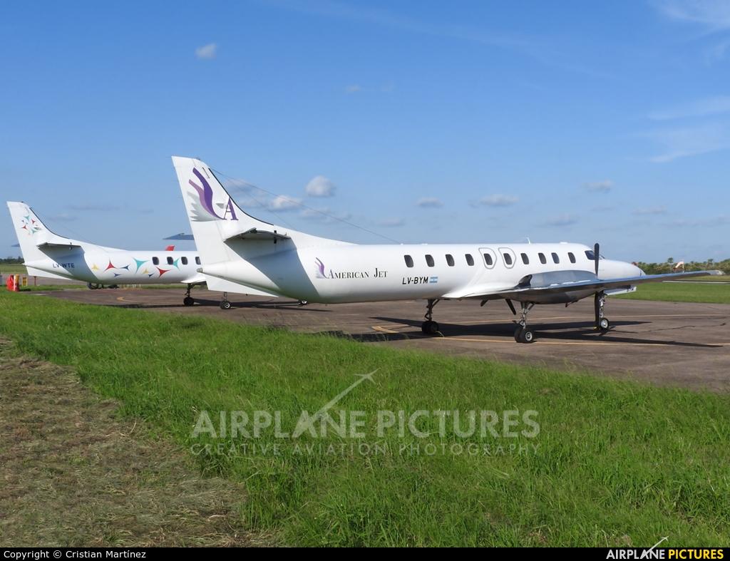 American Jet LV-BYM aircraft at Formosa Intl