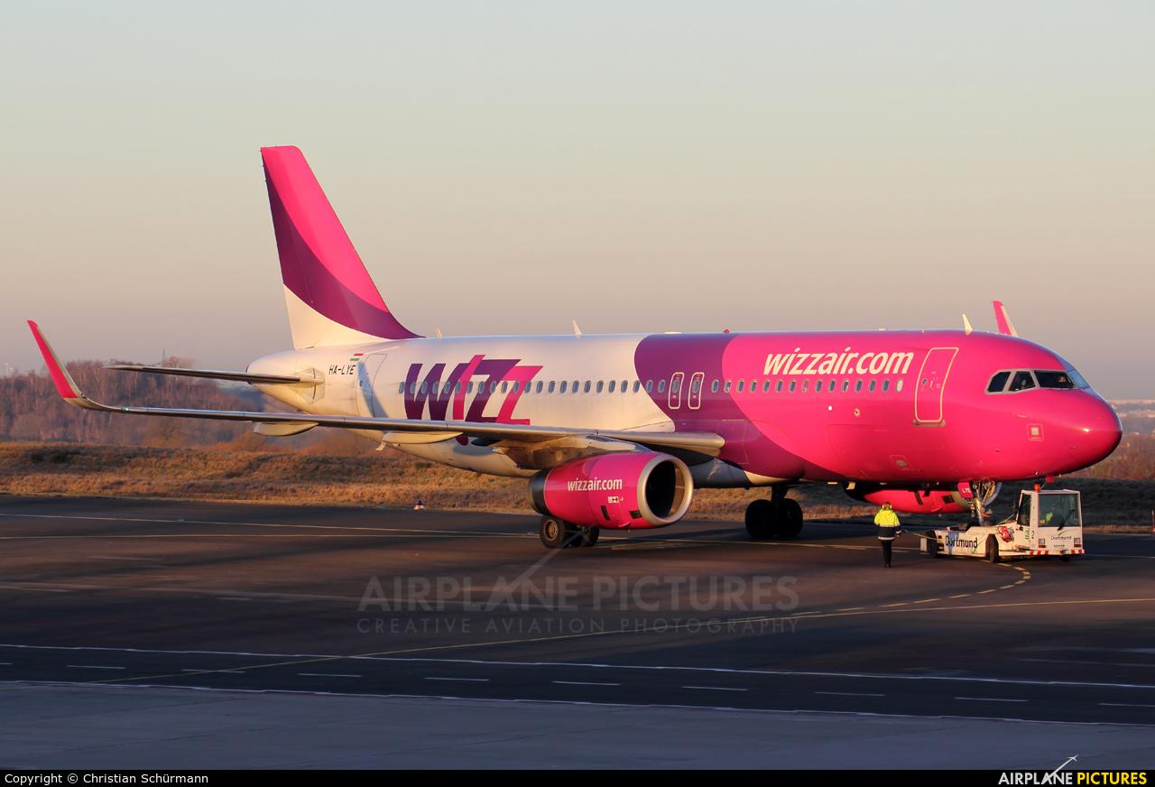 Wizz Air HA-LYE aircraft at Dortmund - Wickede