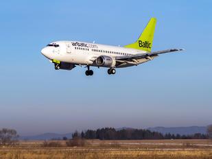 YL-BBD - Air Baltic Boeing 737-500