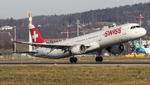 HB-IOO - Swiss Airbus A321 aircraft